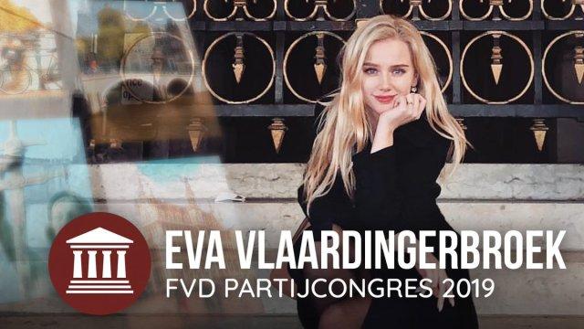 Eva Vlaardingerbroek; FvD Congres