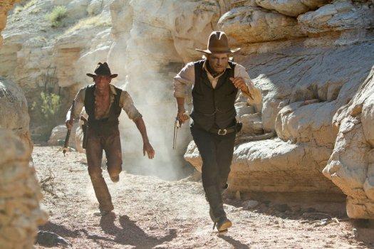 Cowboys y Alienígenas