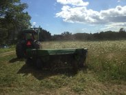 First haymaking on the farm!