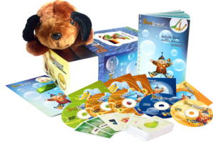 language learning for kids-multimedia set-german learning set-german english