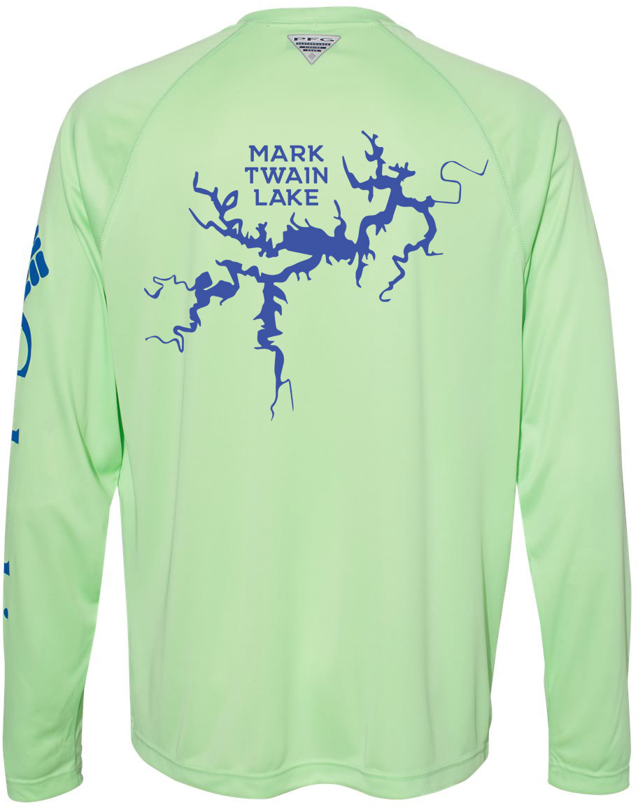 Mark Twain Lake Fishing Shirt