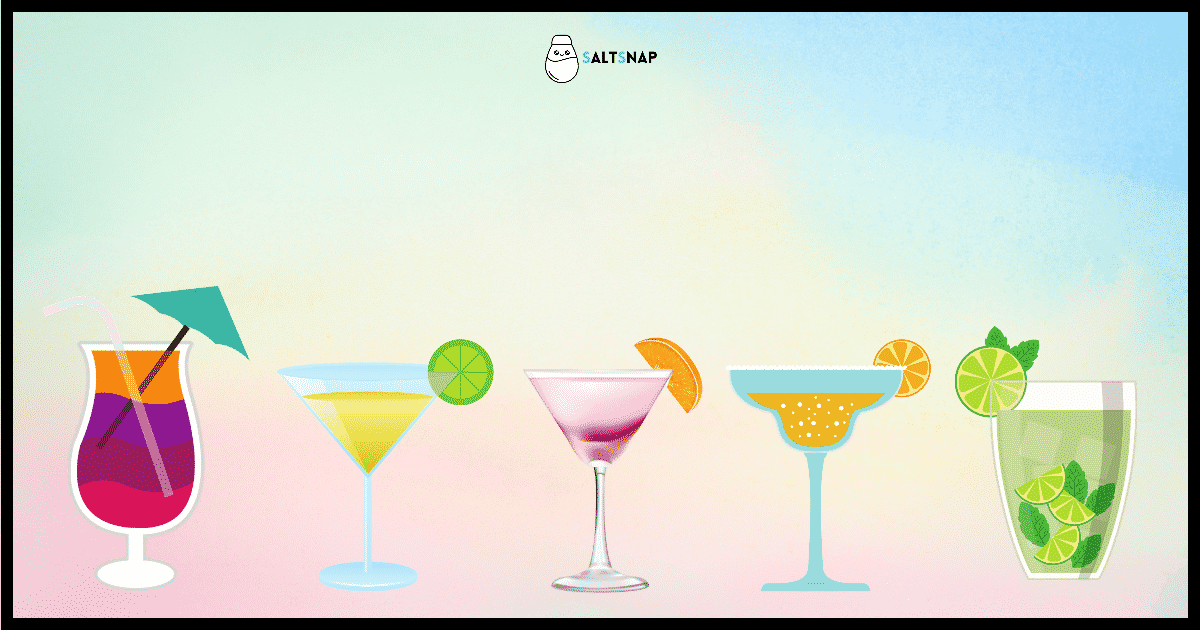Top 5 Classic Cocktails That Will Take You Around The World In One Sip