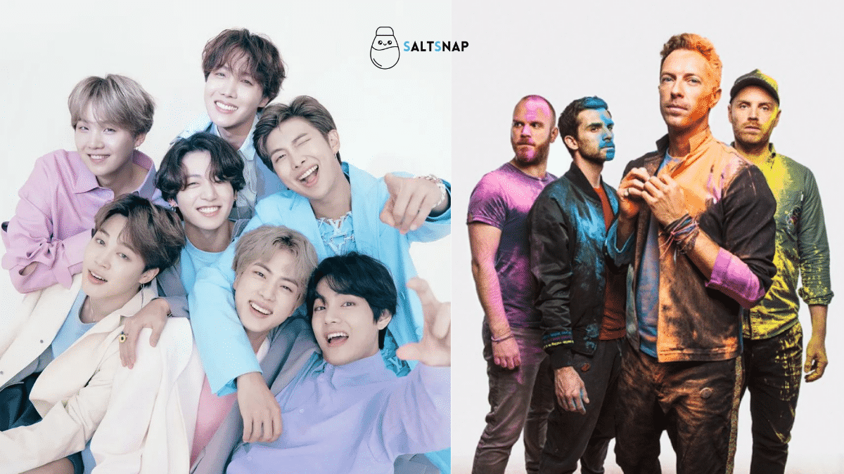 Coldplay x BTS collab: Single 'My Universe' drops