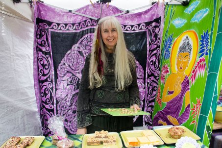 Ariel Jewelery at the Salt Spring Saturday Market