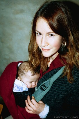 Ann with Baby