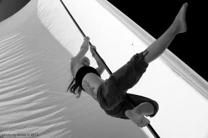 aerial silks, Salt Spring Island BC