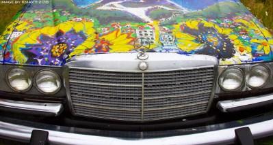 art car painting by Brian Scott www.bscottfinearts.ca
