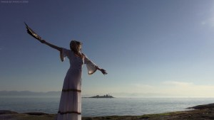 The Goddess Melissa, Gabriola Island, BC