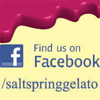 Salt Spring Gelato on Facebook