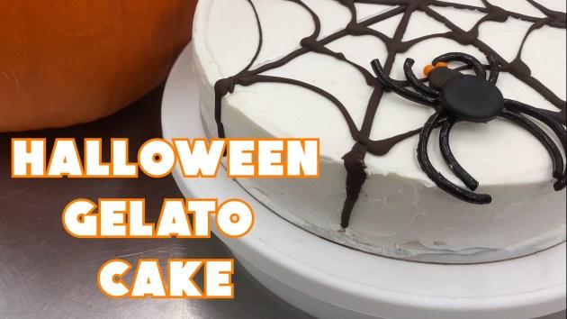 HALLOWEEN GELATO CAKE THUMBNAIL
