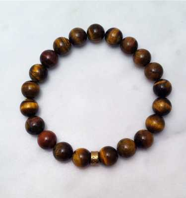 tiger eye mala bracelet for men