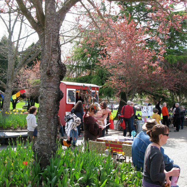 salt spring saturday market