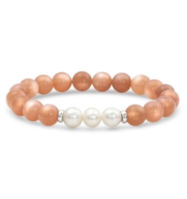 moonstone mala bracelet