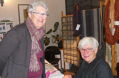 Salt Spring Weavers at the Celebration of Arts