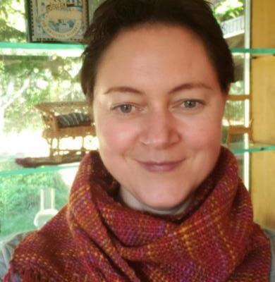 Log Cabin scarf