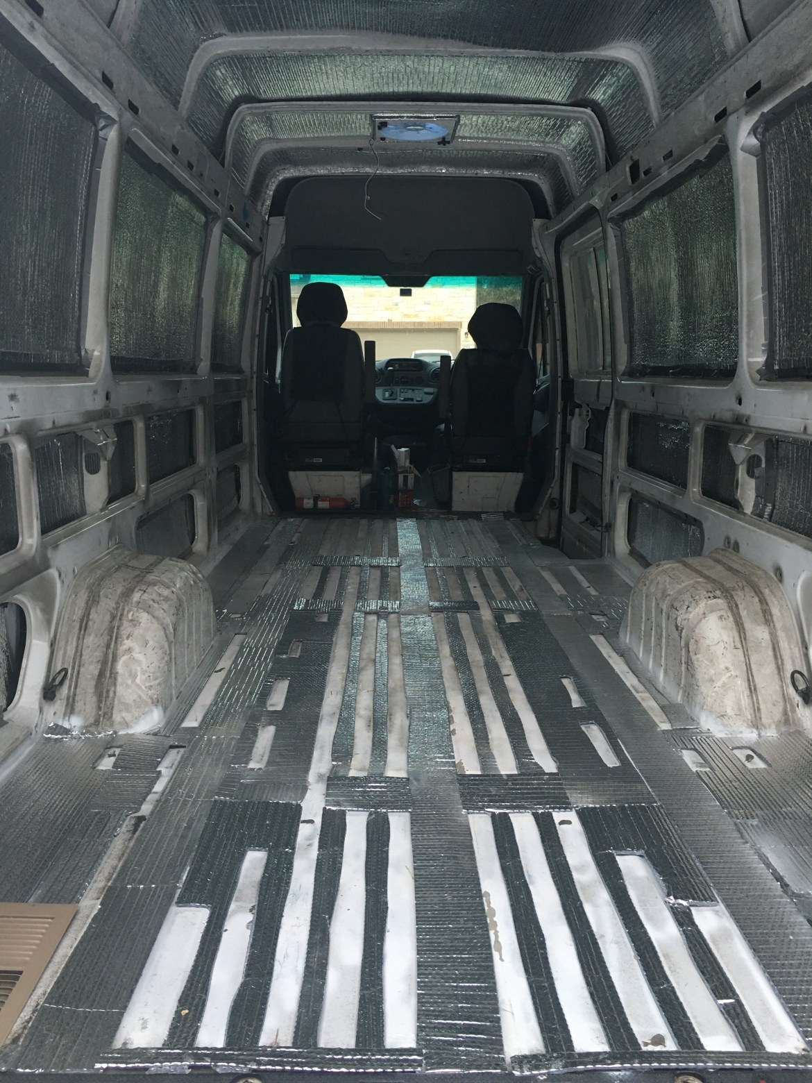 sprinter van insulation reflectix