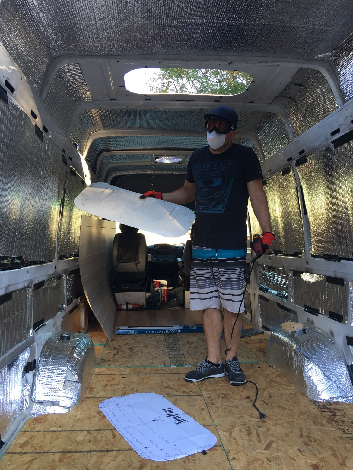 sprinter van sunroof installation