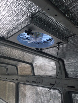 sprinter van conversion ventilation