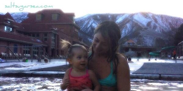 Glenwood springs worlds largest hot springs pool