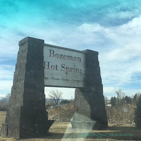 Bozeman hot springs camping