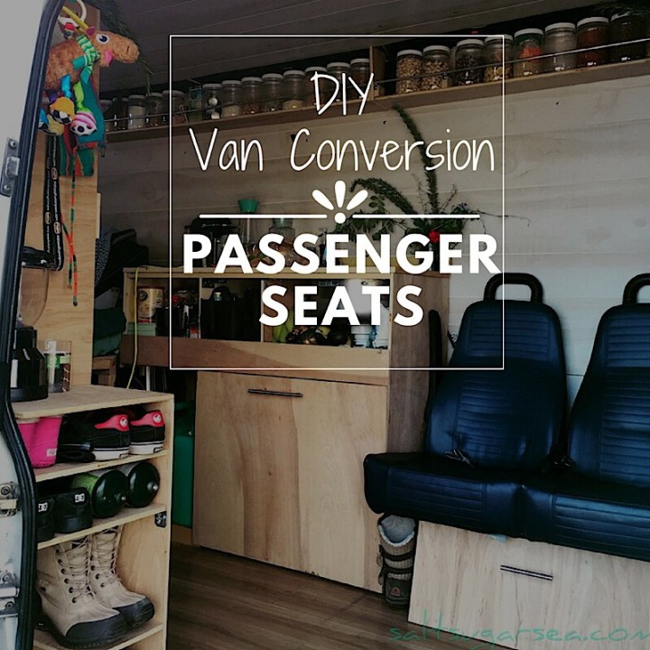 Diy van Conversion seating install