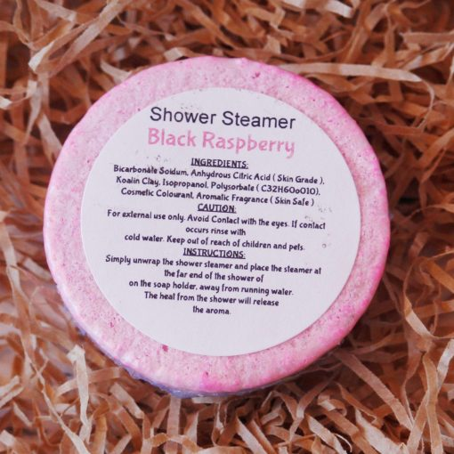 Shower Steamer Black Raspberry