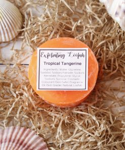 Tropical Tangerine Exfoliating Loofah Soap