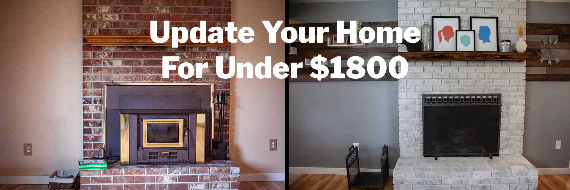 How to Update your Home for Under $1800