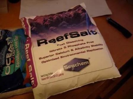 best reef aquarium salt mix sachem