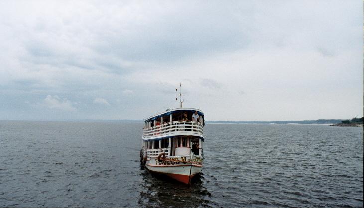 Amazon river boat