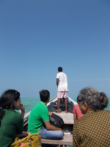 Lakshadweep boat journey