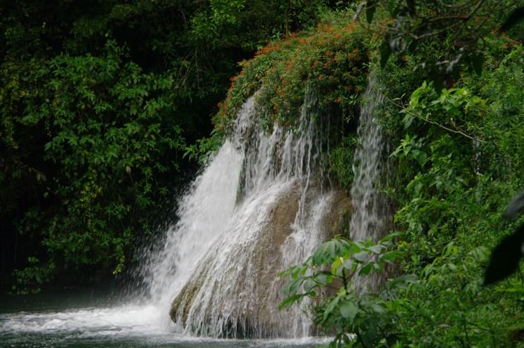 Waterfall at Estancia Mimosa
