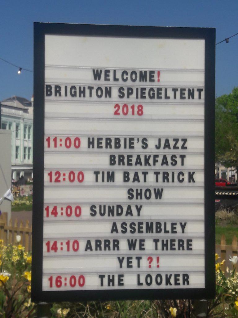 Brighton Fringe 2018