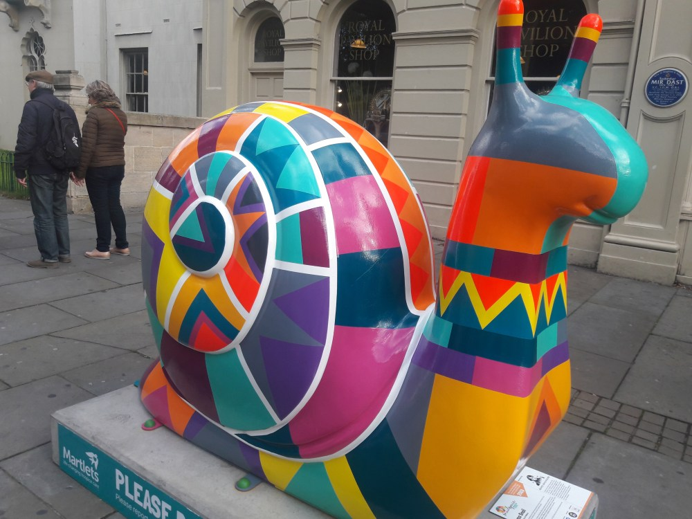 Inca snail Brighton Snailspace