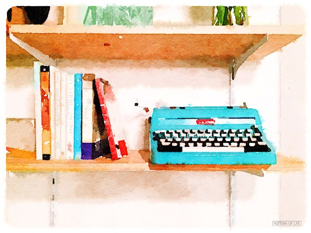 Watercolor Typewriter