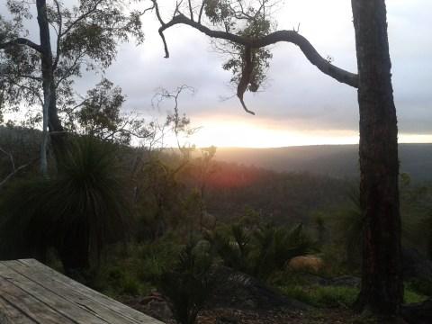 bibbulman-track-sunrise