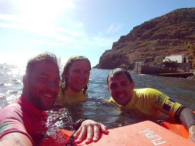 Madeira Bodyboard Lesson – Salty Madeira Water Activities