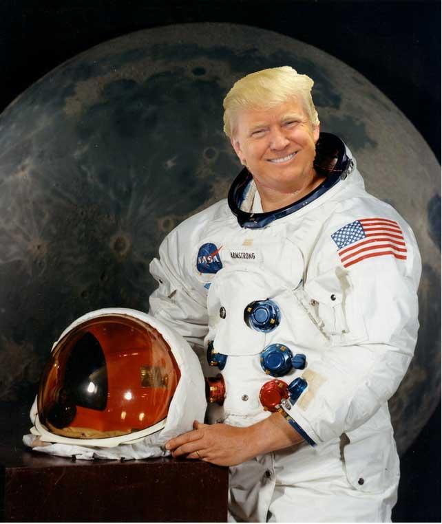 trump space