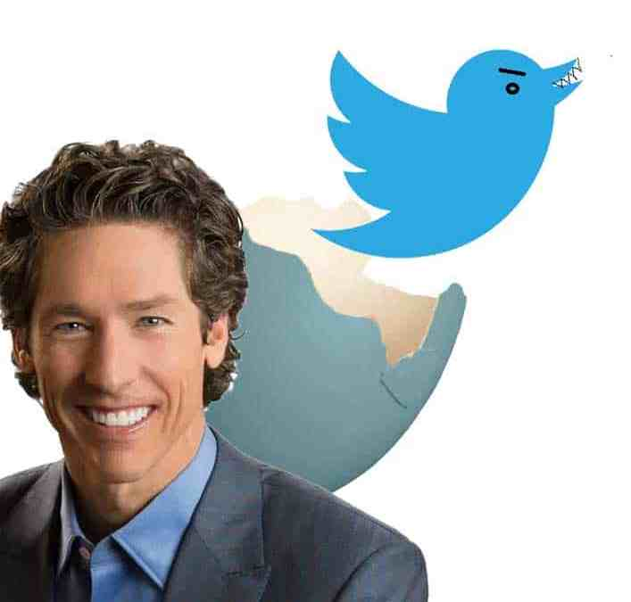 Joel Osteen's Anonymous Twitter Account Exposed