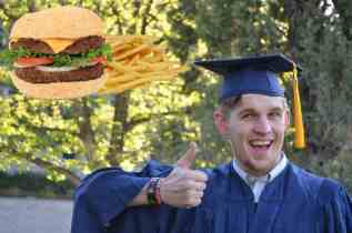Theological degree expertly qualifies student for fast food restaurant