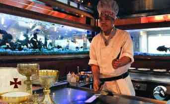 Catholic Church hires hibachi chef to serve Mass