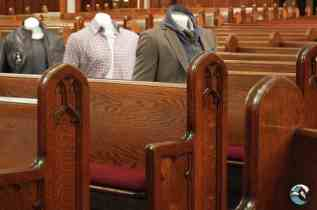 Church uses mannequins to enforce social distancing and so much more…
