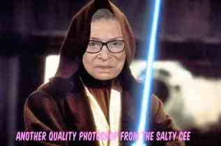 Balance to the force lost as Jedi Master Ruth Bader Ginsberg dies