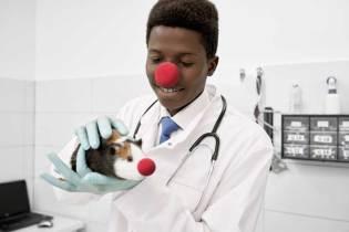 New study: clown noses prevent the spread of COVID