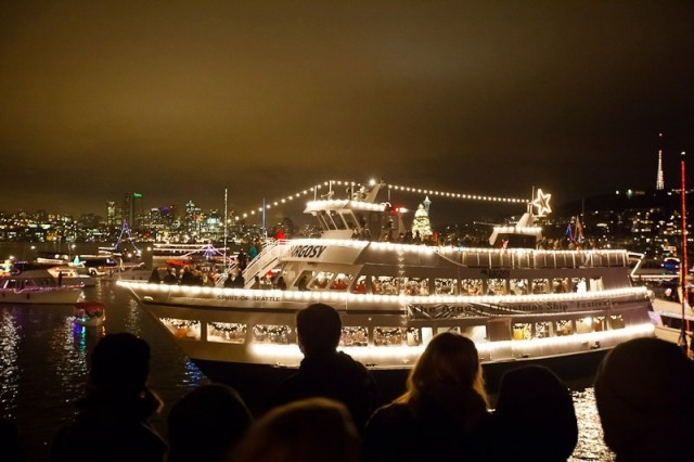christmas ship festival parade of lights pacific northwest argosy - Argosy Christmas Ships 2014