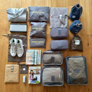 Wer viel Gepäck hat, hat viel zu tragen