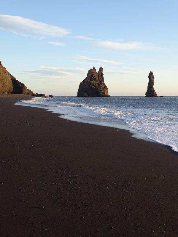 island winter reynisfjara strand