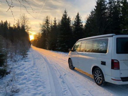 Schwedens Winter-Sonne