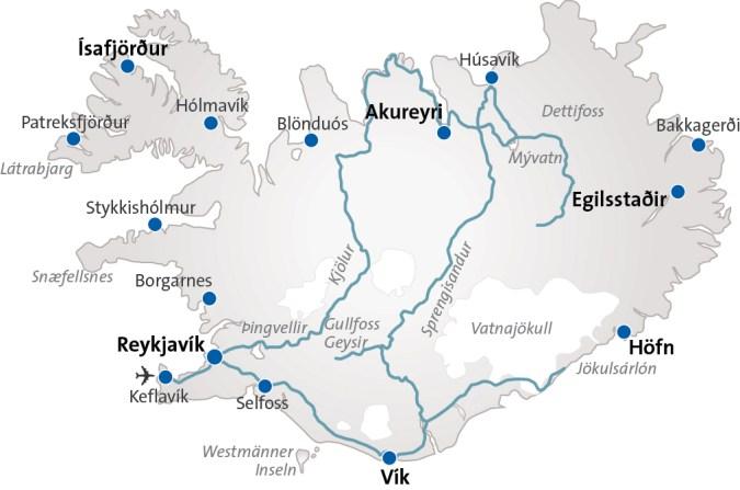 Island Reise 2020