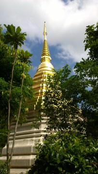 The emerald Buddha was found in this pagoda